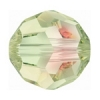 Swarovski Bead 5000 Round 6mm Luminous Green Crystal